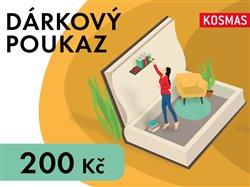 Obálka titulu Elektronický dárkový poukaz v hodnotě 200 Kč