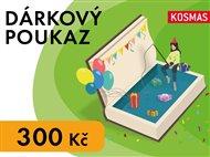 Elektronický dárkový poukaz narozeniny v hodnotě 300 Kč
