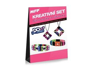 Kreativní set - Náhrdelníky a náramky - 2 + 2 ks - -   Booksquad.ink
