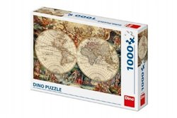 Puzzle Historická mapa 1000 dílků