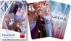 Obálka titulu Karty Černý Petr Frozen II