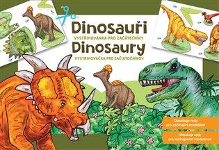 Dinosauři - Vystřihovánky pro začátečníky - - | Booksquad.ink