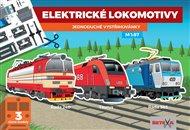 Elektrické lokomotivy - Jednoduché vystřihovánky