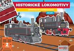 Obálka titulu Historické lokomotivy - Jednoduché vystřihovánky