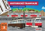 Historické tramvaje - Jednoduché vystřihovánky