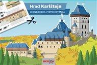Hrad Karlštejn - Jednoduchá vystřihovánky