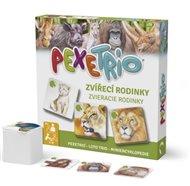 Pexetrio - Zvířecí rodinky - 3. vydání