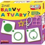 Pexetrio Kids - Znáš barvy a tvary?