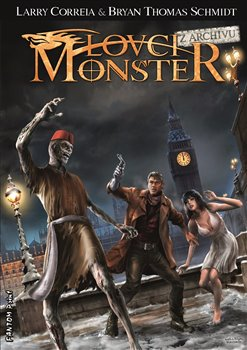 Obálka titulu Lovci monster - Z archivu