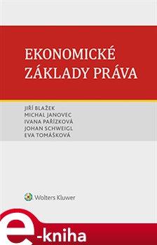 Obálka titulu Ekonomické základy práva