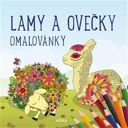 Obálka titulu Lamy a ovečky - omalovánky