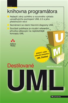 Obálka titulu Destilované UML