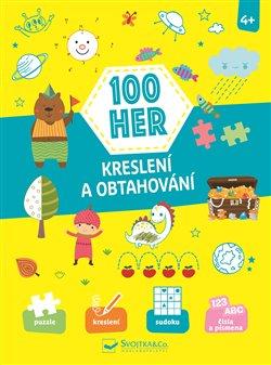Obálka titulu 100 her, Kreslení a obtahování
