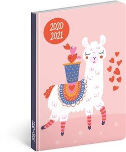 18 měsíční diář Petito – Lama 2020/2021
