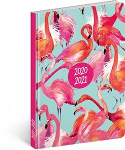 18 měsíční diář Petito – Plameňáci 2020/2021