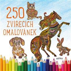 250 zvířecích omalovánek