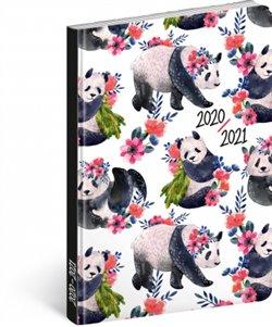 18 měsíční diář Petito – Pandy 2020/2021