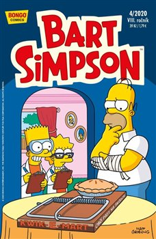 Obálka titulu Bart Simpson 4/2020