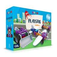 Kvído - Stavebnice Playstix - vozidla 146 dílků