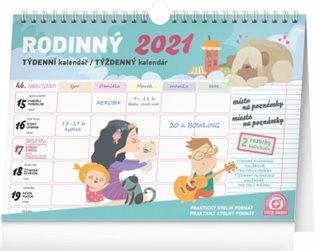 Týdenní rodinný plánovací kalendář s háčkem 2021