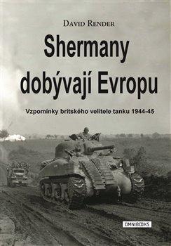 Obálka titulu Shermany dobývají Evropu