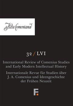 Obálka titulu Acta Comeniana 32 (LVI)