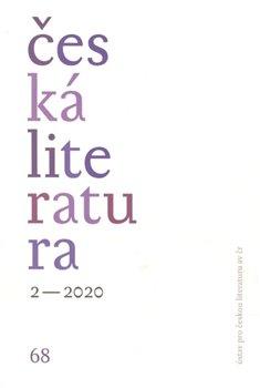 Obálka titulu Česká literatura 2/2020