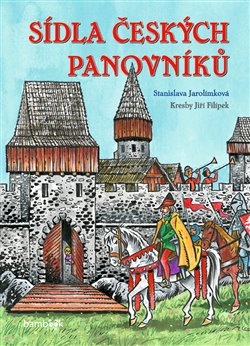 Obálka titulu Sídla českých panovníků