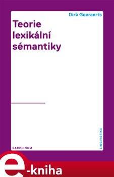 Obálka titulu Teorie lexikální sémantiky
