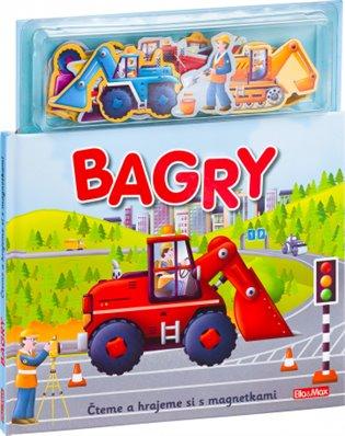 Bagry - Knížka s magnetkami