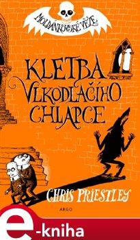 Obálka titulu Kletba vlkodlačího chlapce. Moldánkovské věže 1.