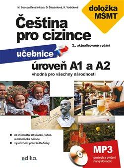 Obálka titulu Čeština pro cizince A1 a A2