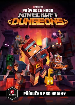 Obálka titulu Minecraft - Průvodce hrou Dungeons