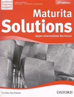 Obálka titulu Maturita Solutions 2nd Edition Upper Intermediate Workbook