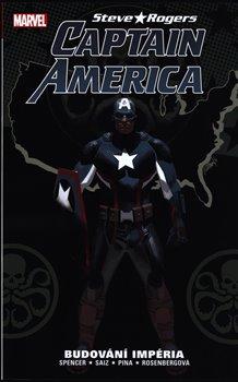 Obálka titulu Captain America: Steve Rogers 3: Budování impéria