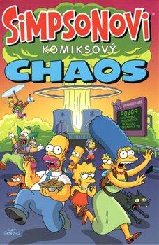 Obálka titulu Simpsonovi: Komiksový chaos