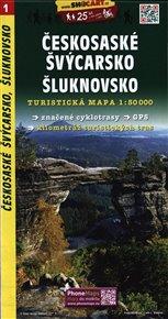Českosaské Švýcarsko, Šluknovsko / Turistická mapa SHOCart