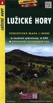 Lužické hory / Turistická mapa SHOCart