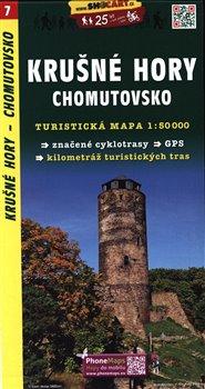 Krušné hory,Chomutovsko / Turistická mapa SHOCart