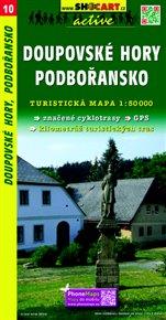 Doupovské hory / Turistická mapa SHOCart