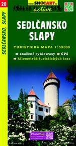 Sedlčansko, Slapy / Turistická mapa SHOCart