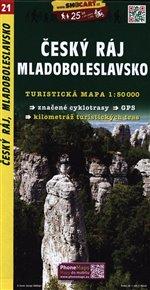 Český ráj-Mladoboleslavsko / Turistická mapa SHOCart