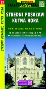 Střední Posázaví, Kutná hora / Turistická mapa SHOCart