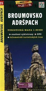 Obálka titulu Broumovsko, Adršpach / Turistická mapa SHOCart