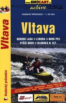 Obálka titulu Vodácký průvodce Vltava