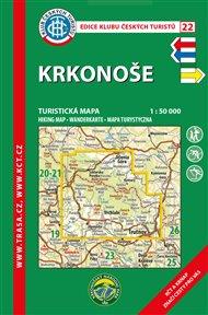 Krkonoše / turistická mapa KČT