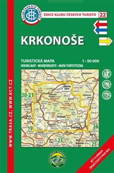 Obálka titulu Krkonoše / turistická mapa KČT