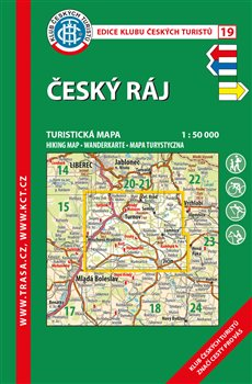 Český ráj / turistická mapa KČT