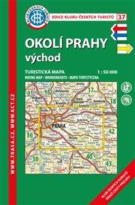 Okolí Prahy-východ / turistická mapa KČT