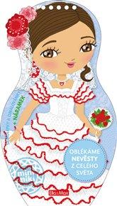 Oblékáme nevěsty z celého světa – Omalovánky
